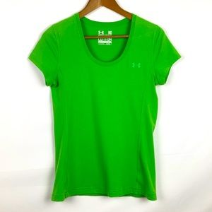 UNDER ARMOUR Charged Cotton T Shirt Green Tee